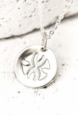 Pieces of Me Necklace Loyal SIlver