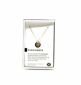 Pieces of Me Necklace Passionate Gold