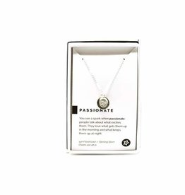 Pieces of Me Necklace Passionate Silver