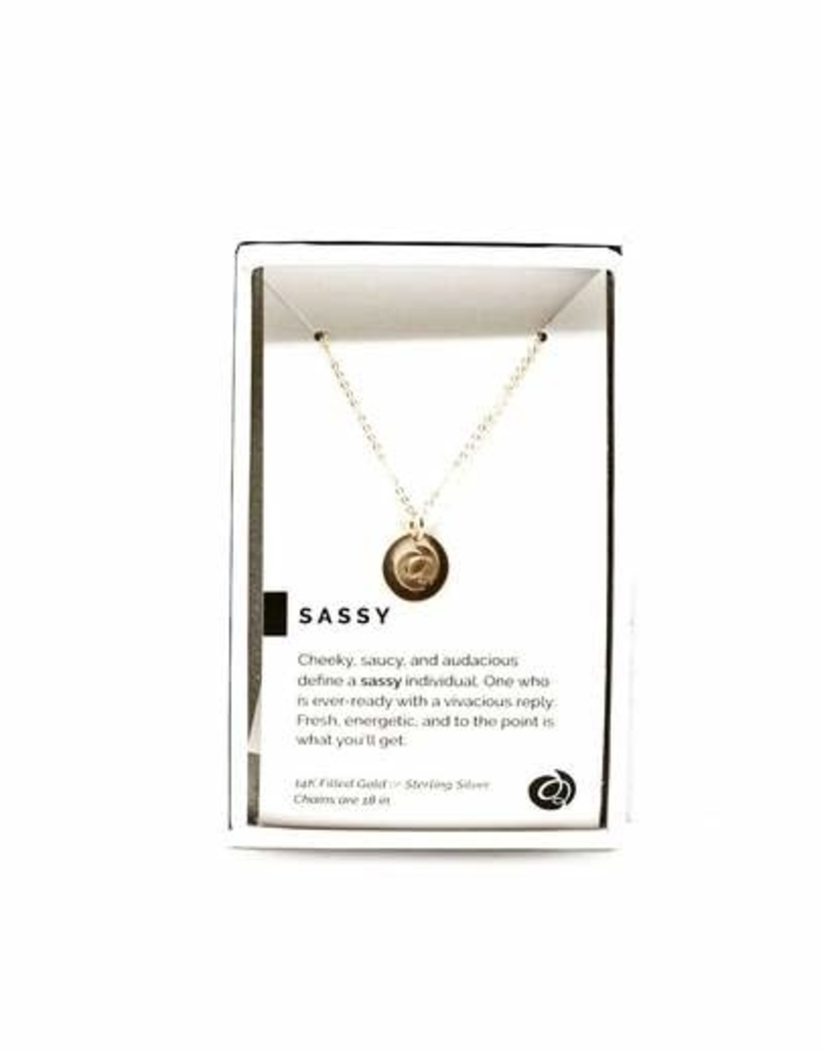 Pieces of Me Necklace Sassy Gold