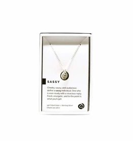 Pieces of Me Necklace Sassy Silver