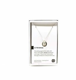 Pieces of Me Necklace Strong Silver