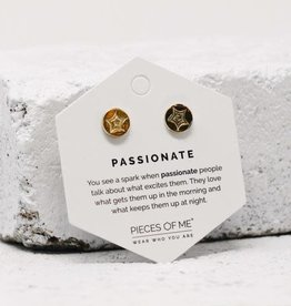 Pieces of Me Earrings -Passionate Gold