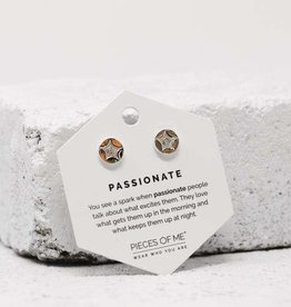 Pieces of Me Earrings - Silver Passionate