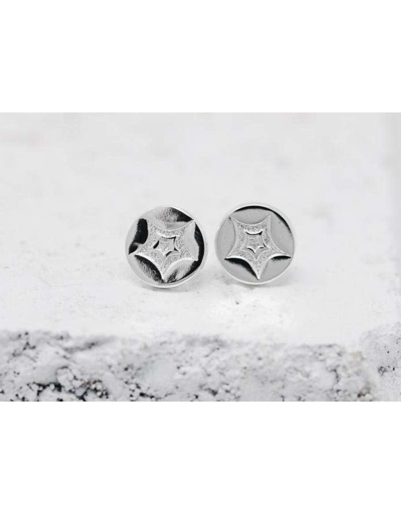 Pieces of Me Earrings -Passionate Silver