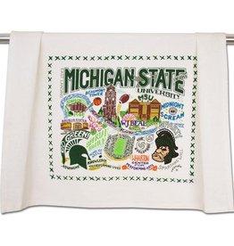 Catstudio Dish Towel- MSU
