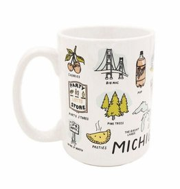 City Bird Michigan Things Mug