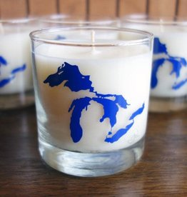 City Bird Great Lakes Soy Candle Fresh Water