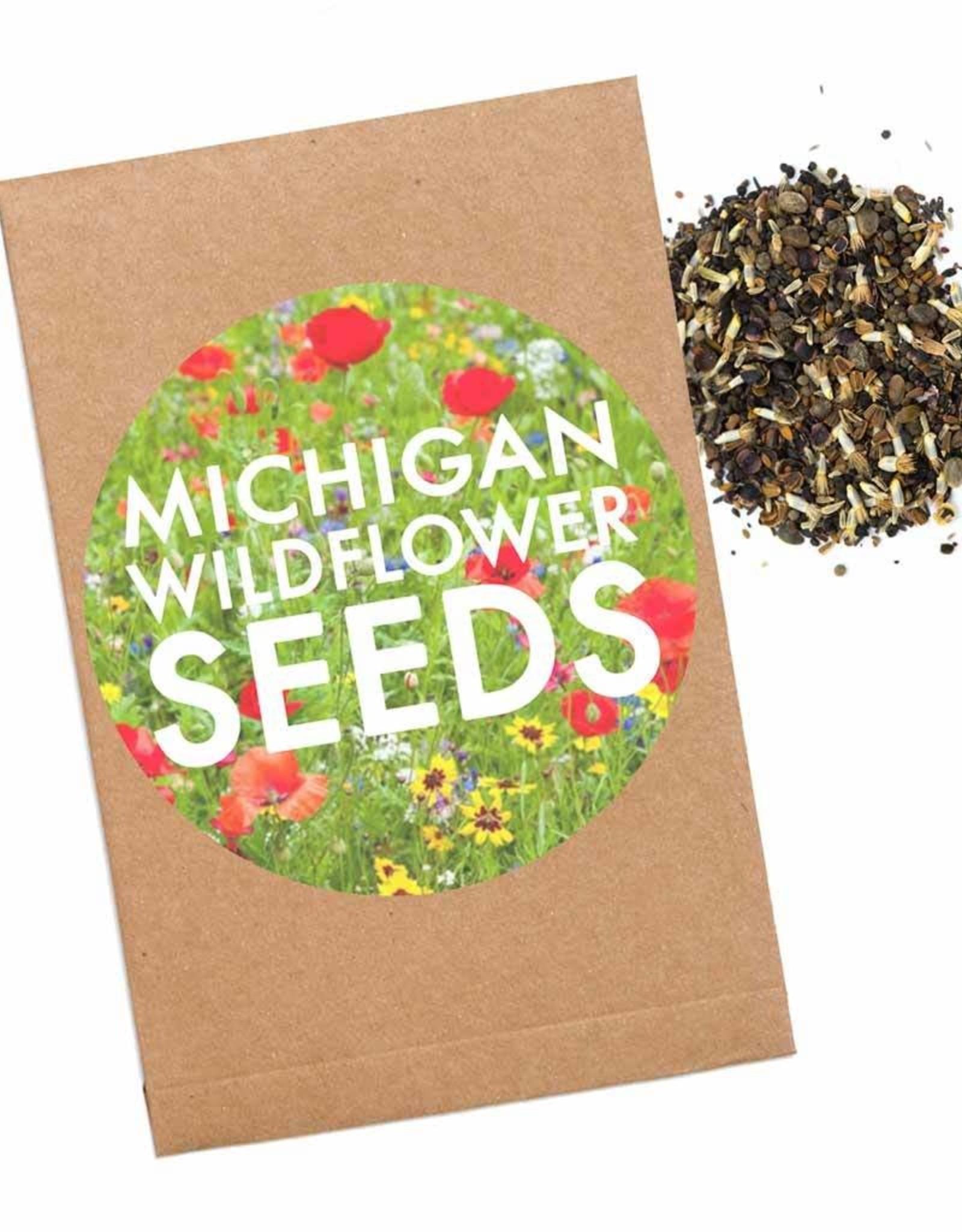 City Bird Michigan Wildflower Seed Packet
