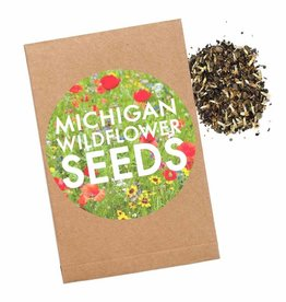 City Bird Michigan Wildflower Seed Packet