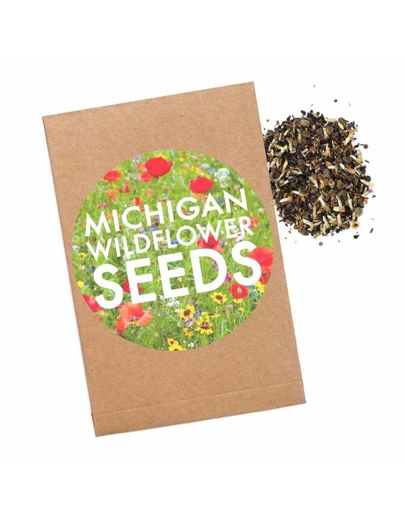 Michigan Wildflower Seed Packet