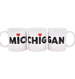City Bird Michigan Love Mug