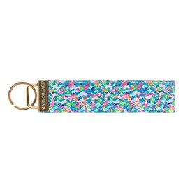 Mary Square Keyfob Santorini Find Beauty