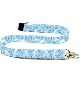 Mary Square Lanyard Blue Rush