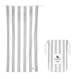Dock & Bay Quick Dry Towel Cabana Large Grey