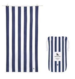 Dock & Bay Quick Dry Towel Cabana XLG Blue Navy