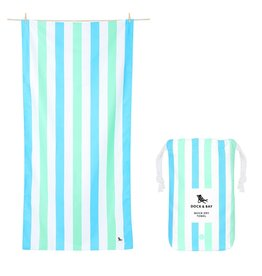 Dock & Bay Quick Dry Towel Summer Large Blue Green