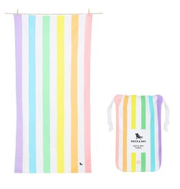 Dock & Bay Quick Dry Towel Summer Large Light Rainbow