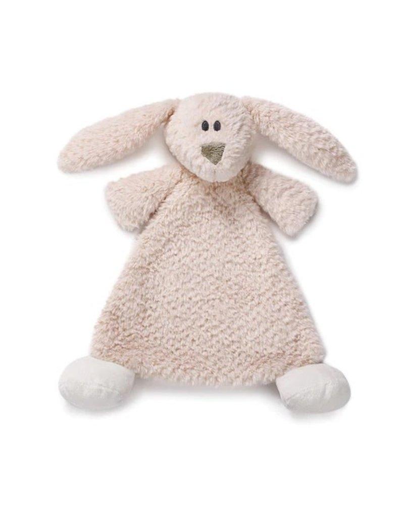 Demdaco Cozy Rattle Blankie Belina Bunny