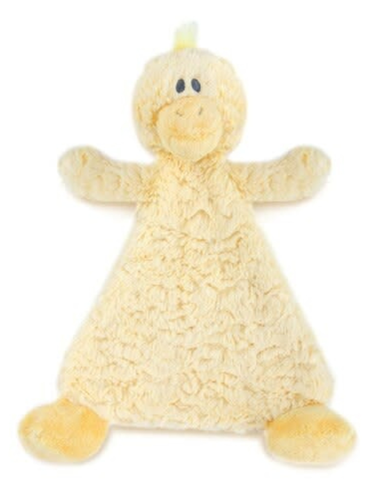 Cozy Rattle Blankie Daddles Duck