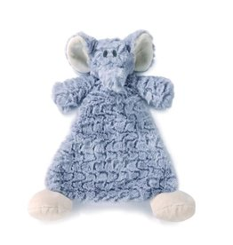 Demdaco Cozy Rattle Blankie Ellery Elephant