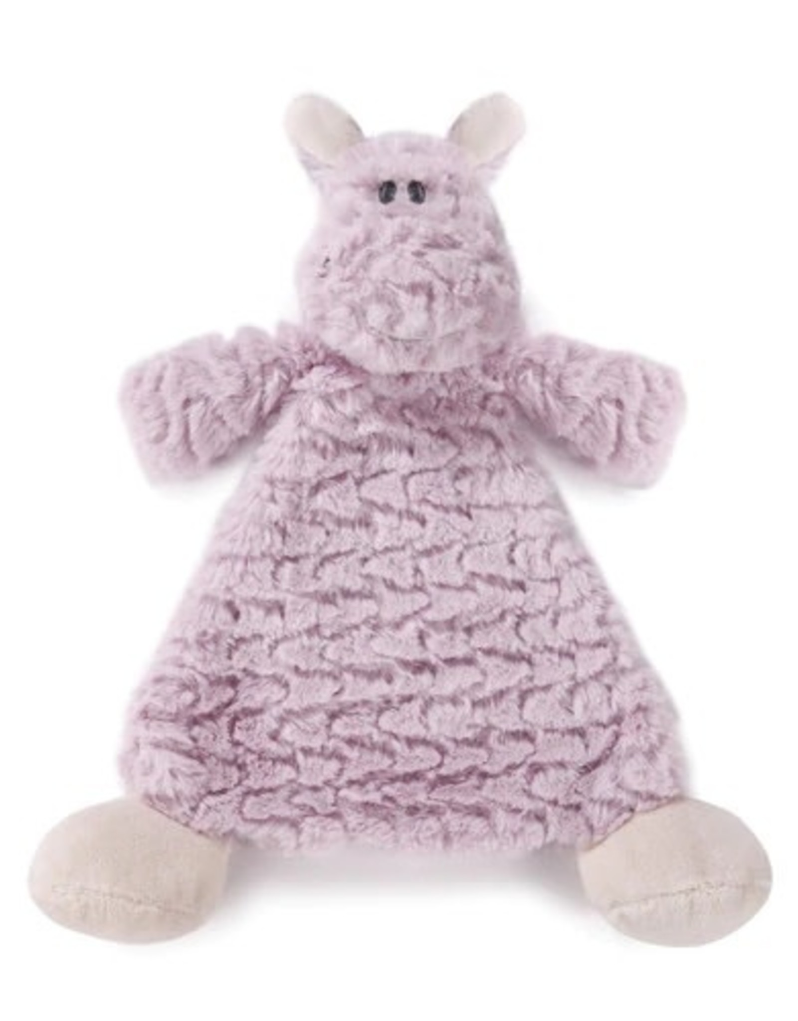 Cozy Rattle Blankie Harlow Hippo