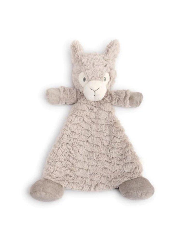 Demdaco Cozy Rattle Blankie Luna Llama