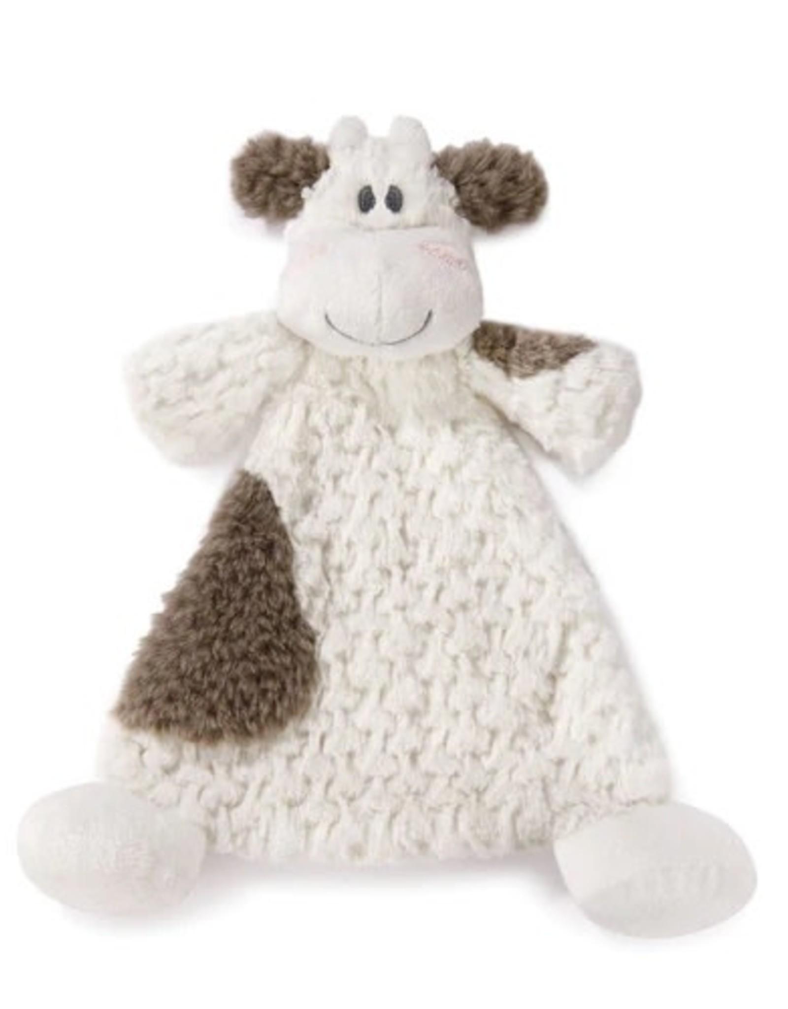 Cozy Rattle Blankie Moozer Cow