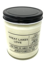 JKM Soy Candles Michigan Inspired Scents Candle Great Lakes Love