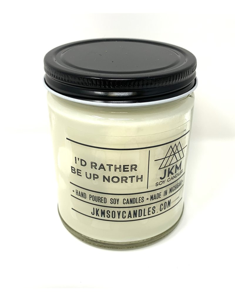 JKM Candle Michigan Inspired Scent I'd Rather Be Up North