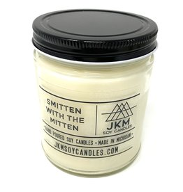JKM Soy Candles Michigan Inspired Scents Candle Smitten with the Mitten