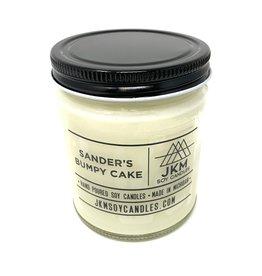 JKM Candle Michigan Inspired Scent Sander's Bumpy Cake