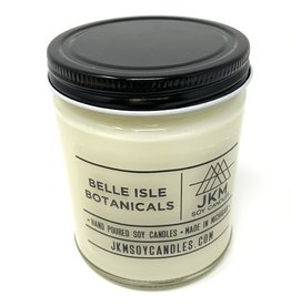 JKM Soy Candles Michigan Inspired Scents Candle Belle Isle Botanicals