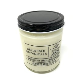 JKM Candle Michigan Inspired Scent Belle Isle Botanicals