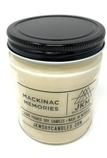 JKM Soy Candles Michigan Inspired Scents Candle Mackinac Memories