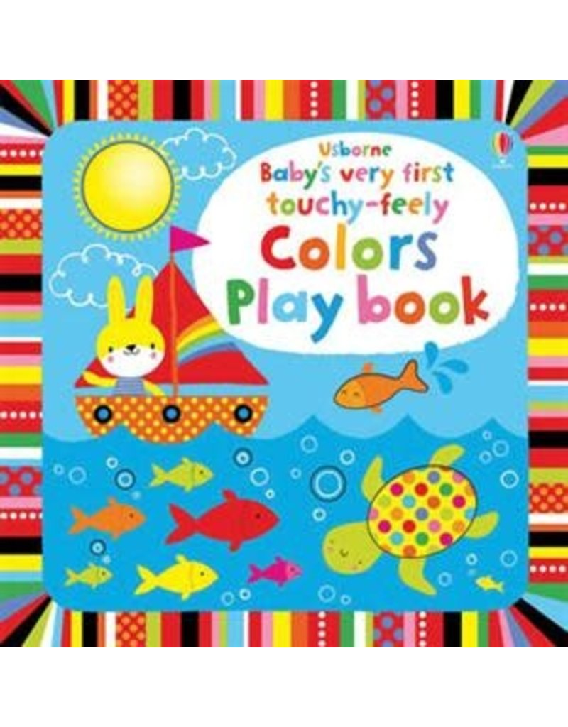 Baby's First Touchy-Feely Colors Book