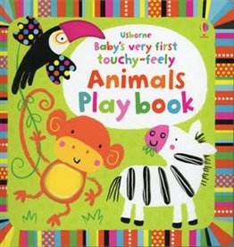 Usborne Books Baby's First Touchy-Feely Animal Book