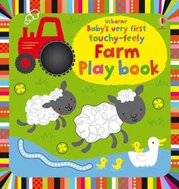 Usborne Books Baby's First Touchy-Feely Farm Book