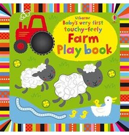 Usborne Books Baby's First Touchy-Feely Farm Book