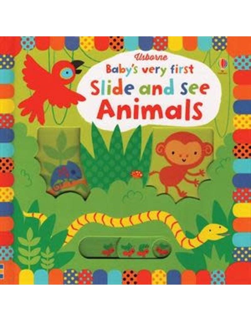 Baby's First Slide & See Animal Book