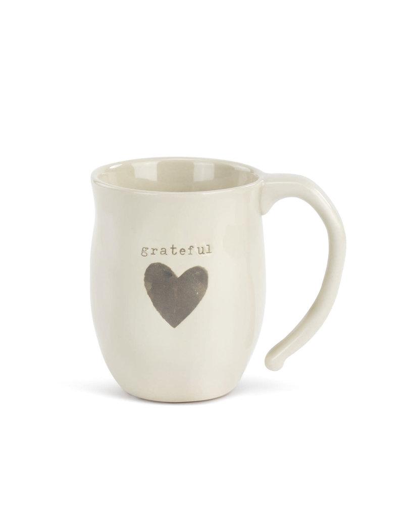 Demdaco Mug Heart Grateful