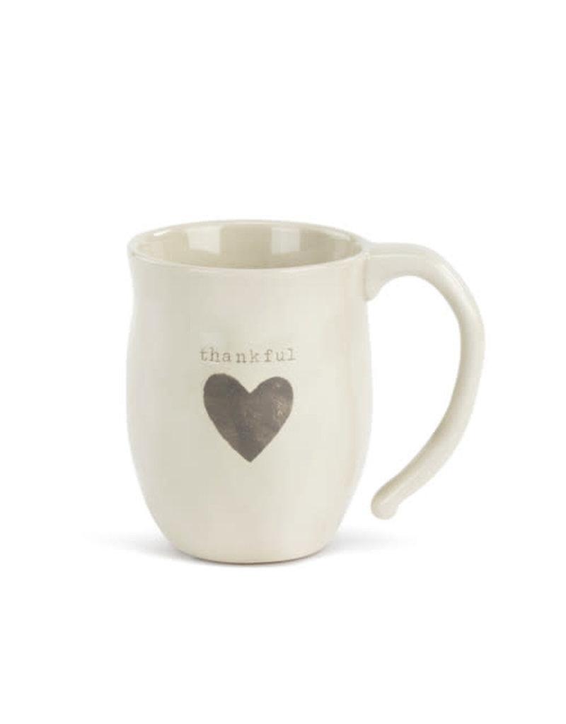 Demdaco Mug Thankful Heart