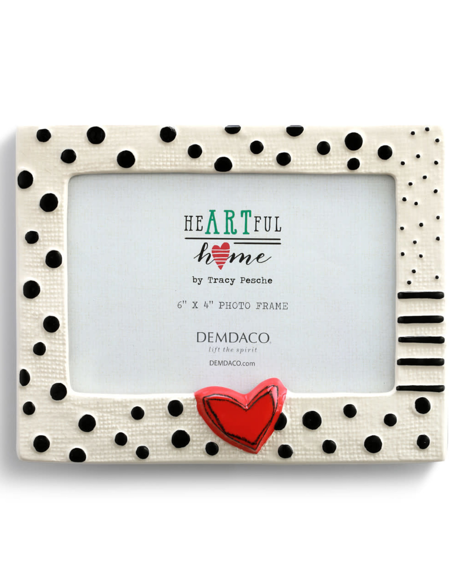 Frame - Heart and Dots 4x6