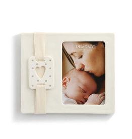 Demdaco Frame - Sweet Baby Heart Grey