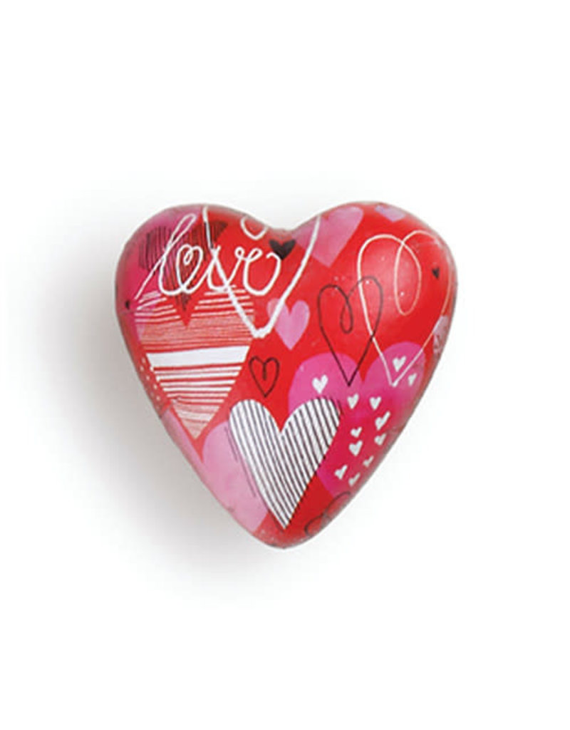 Demdaco Art Heart Token Love