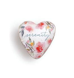Demdaco Art Heart Token Serenity