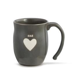 Demdaco Mug Heart Dad