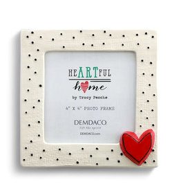 Frame - Small Dots with Heart