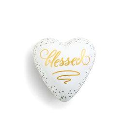 Demdaco Art Heart Token Blessed