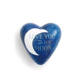 Art Heart Token Love you to the Moon